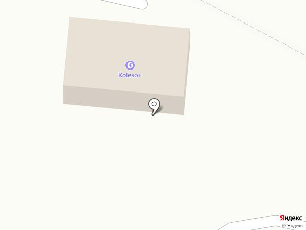 Koleso на карте Елабуги