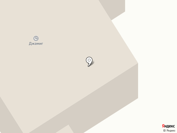 Джамиг на карте Елабуги