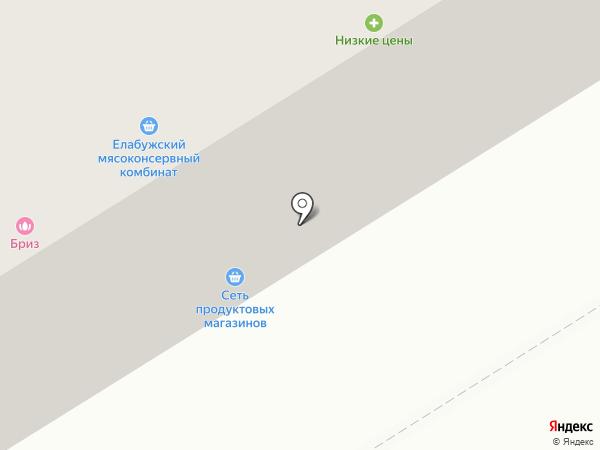 Альпари на карте Елабуги