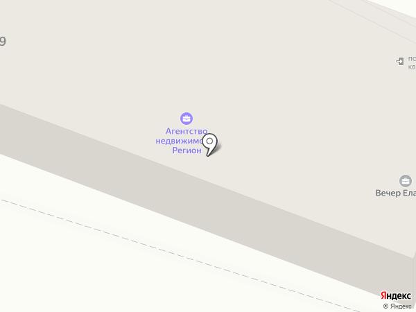 Олероли на карте Елабуги