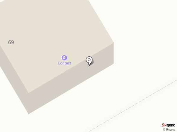 Банкомат, Камский коммерческий банк на карте Елабуги