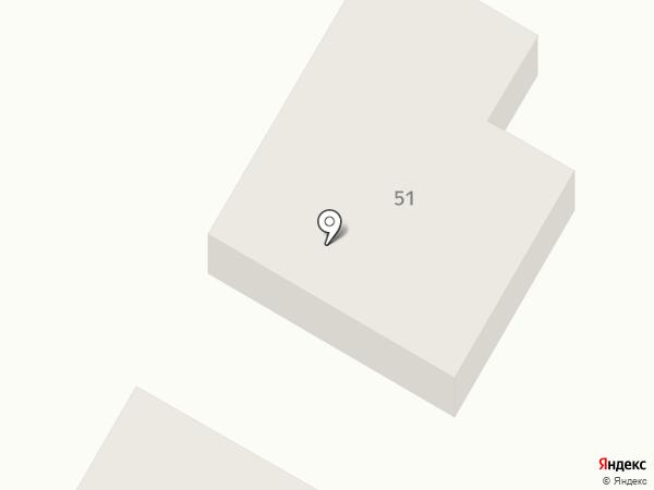 КАМА на карте Елабуги