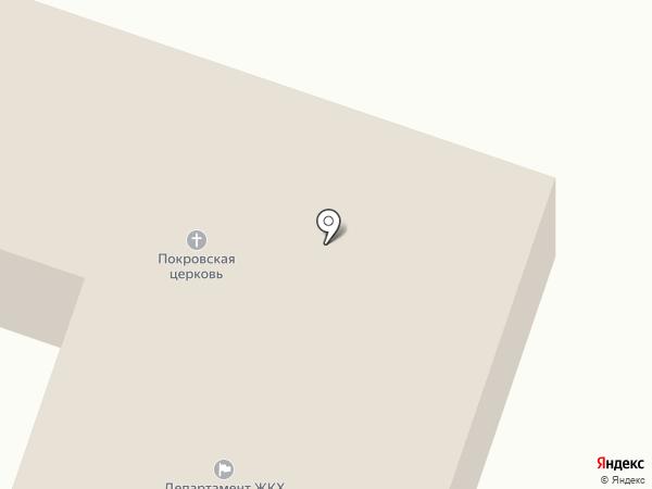 Департамент ЖКХ и строительства Елабужского муниципального района, МУП на карте Елабуги