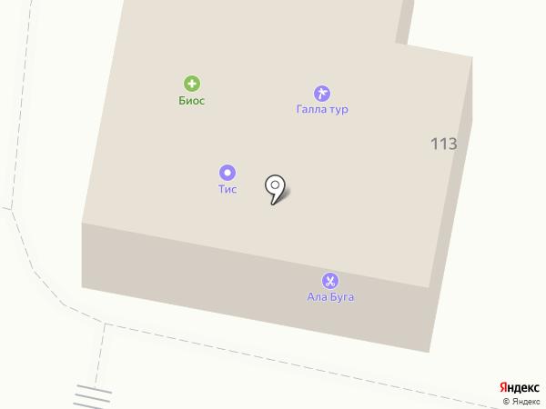 Galla-Тур на карте Елабуги