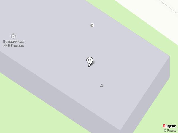 Детский сад №5 на карте Елабуги