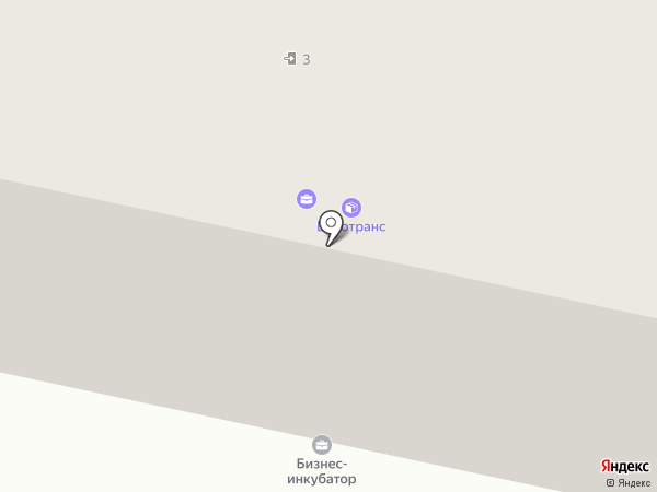 Кама-Жилье на карте Елабуги