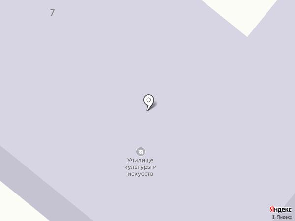 Елабужский колледж культуры и искусств на карте Елабуги