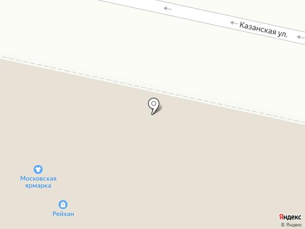 Фишка на карте Елабуги