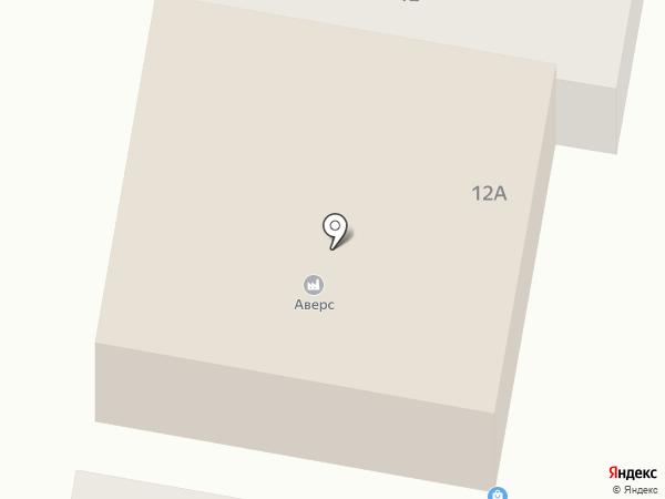 Аверс на карте Елабуги