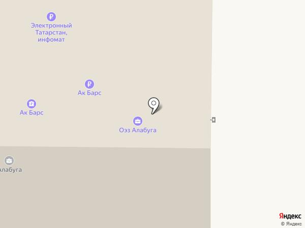 Франкосервис на карте Елабуги