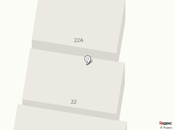 Чулпан на карте Елабуги