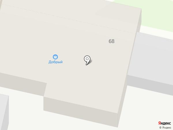 Добрый на карте Елабуги