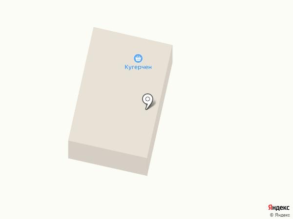 Кугарчен на карте Елабуги