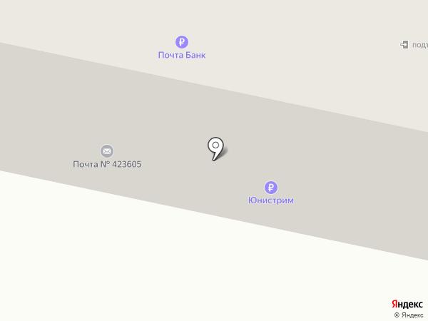 Почтовое отделение №5 на карте Елабуги