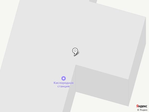 Кислородная станция на карте Елабуги