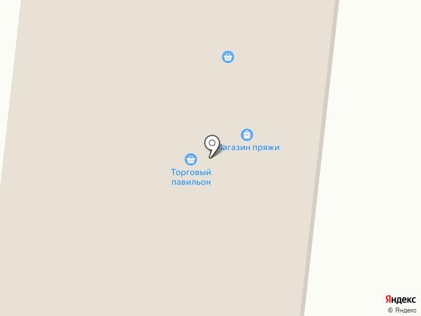 Пряжа на карте Елабуги