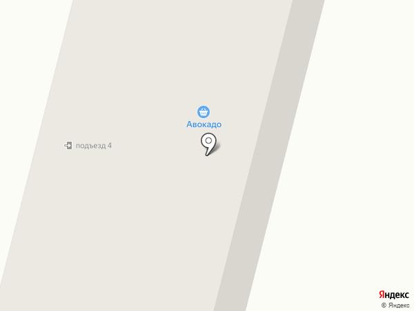 Антей на карте Елабуги