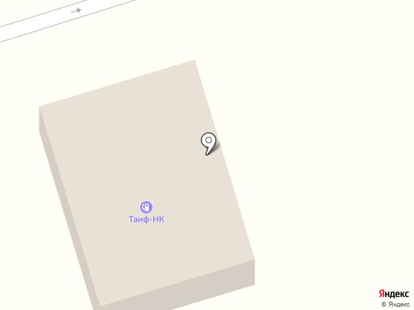 Таиф-НК на карте Елабуги