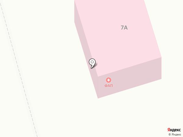 Круглопольская врачебная амбулатория на карте Круглого Поля