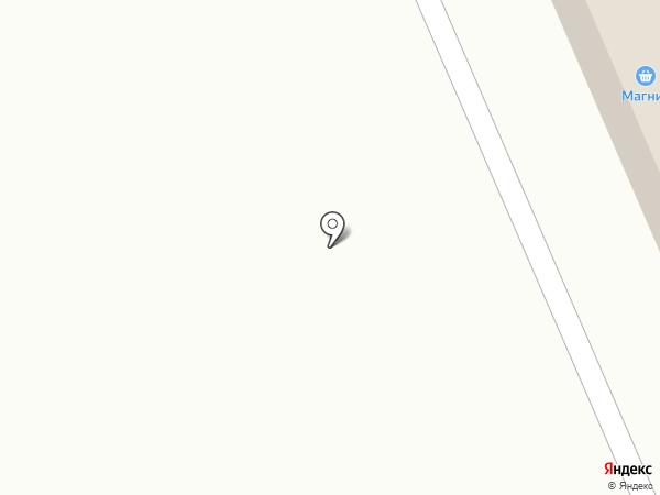 Магнит на карте Круглого Поля