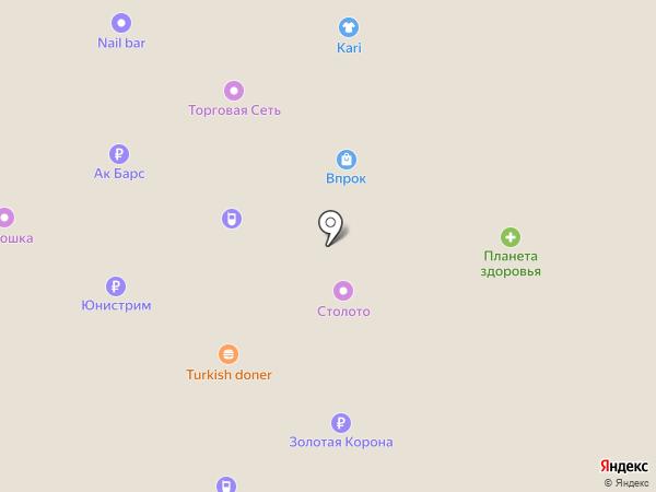 Банкомат, АКБ БТА-Казань на карте Альметьевска