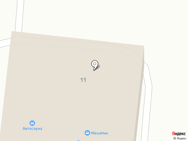 Автосауна на карте Альметьевска