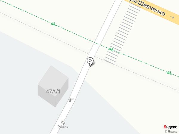 Гузель на карте Альметьевска