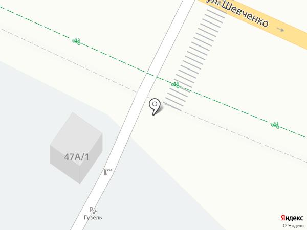 Гюзель на карте Альметьевска
