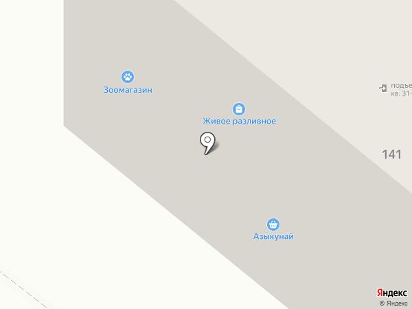 Салям на карте Альметьевска