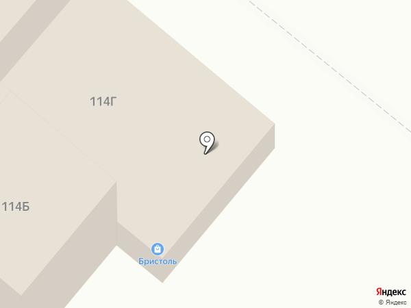 Бристоль на карте Альметьевска