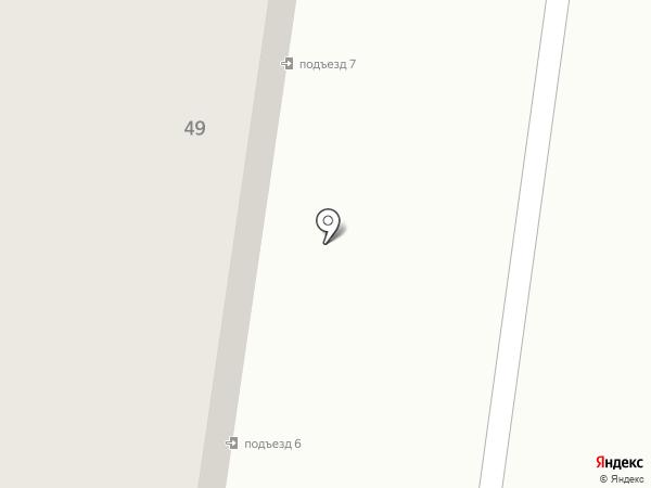 ЖЭУ №10 на карте Альметьевска