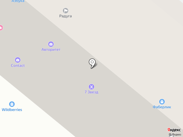 Барин на карте Альметьевска