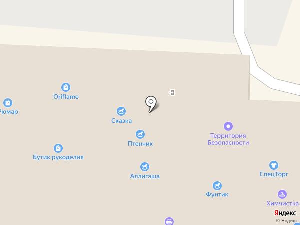 Ансат на карте Альметьевска
