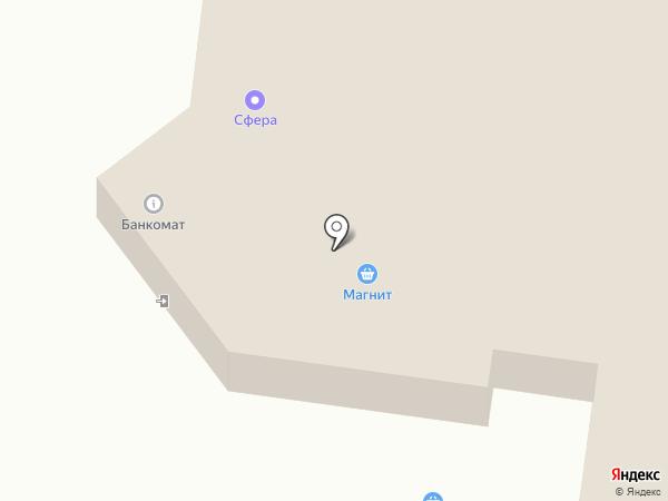 Пятёрочка на карте Альметьевска