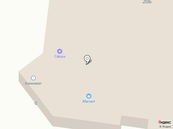 Банкомат, Автоградбанк на карте Альметьевска