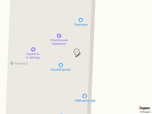 Симкор на карте Альметьевска