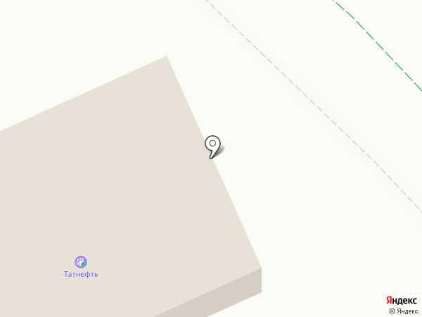 АЗС Tatneft на карте Альметьевска