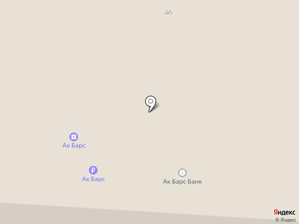 Инфокиоск, АК БАРС БАНК на карте Альметьевска