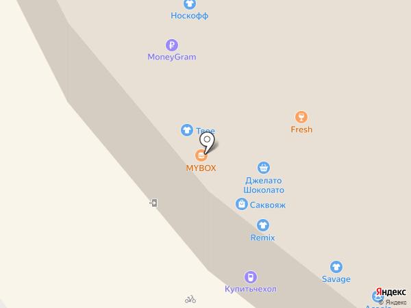 Chicken на карте Альметьевска