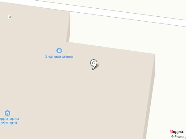 Знатный хмель на карте Альметьевска