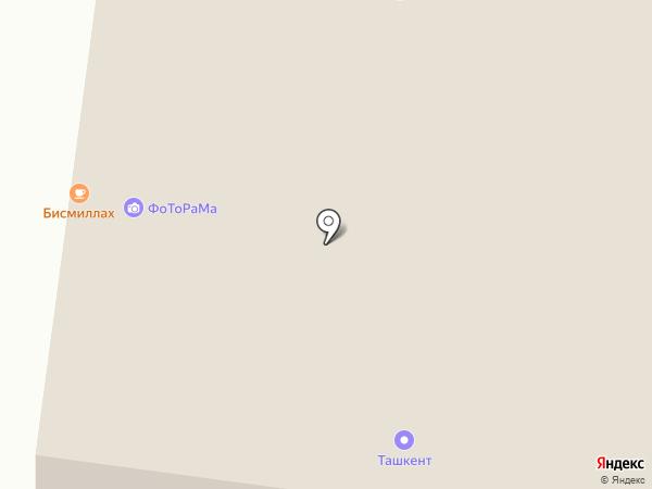 Вилка на карте Альметьевска