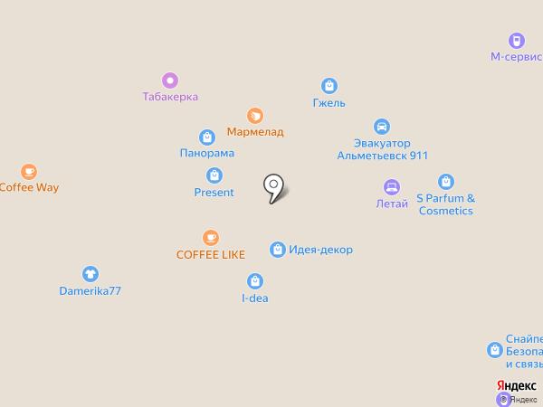 Jenavi на карте Альметьевска