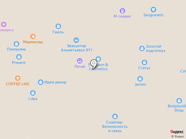 Askent на карте Альметьевска