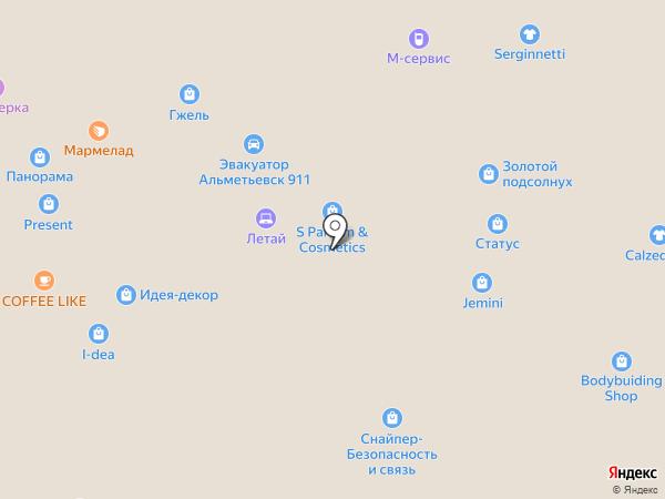 i-dea на карте Альметьевска