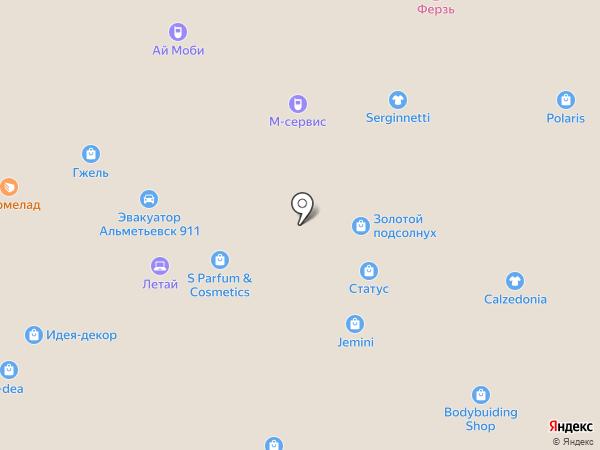 Летай на карте Альметьевска