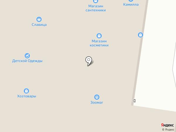 Милена на карте Альметьевска