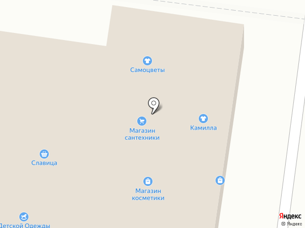 Магазин сантехники на карте Альметьевска