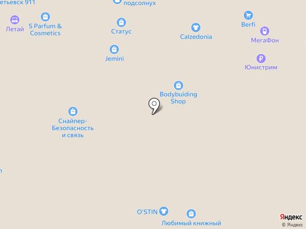 Yota на карте Альметьевска