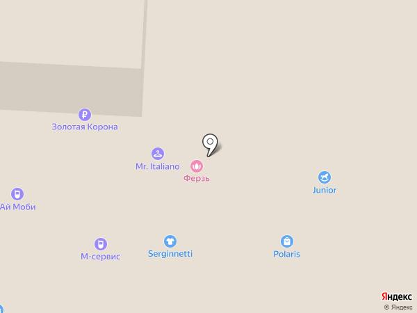 М-сервис на карте Альметьевска