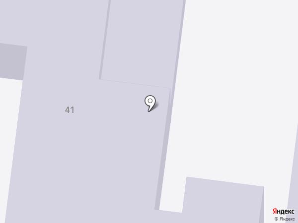 Детский сад №45, Космос на карте Альметьевска